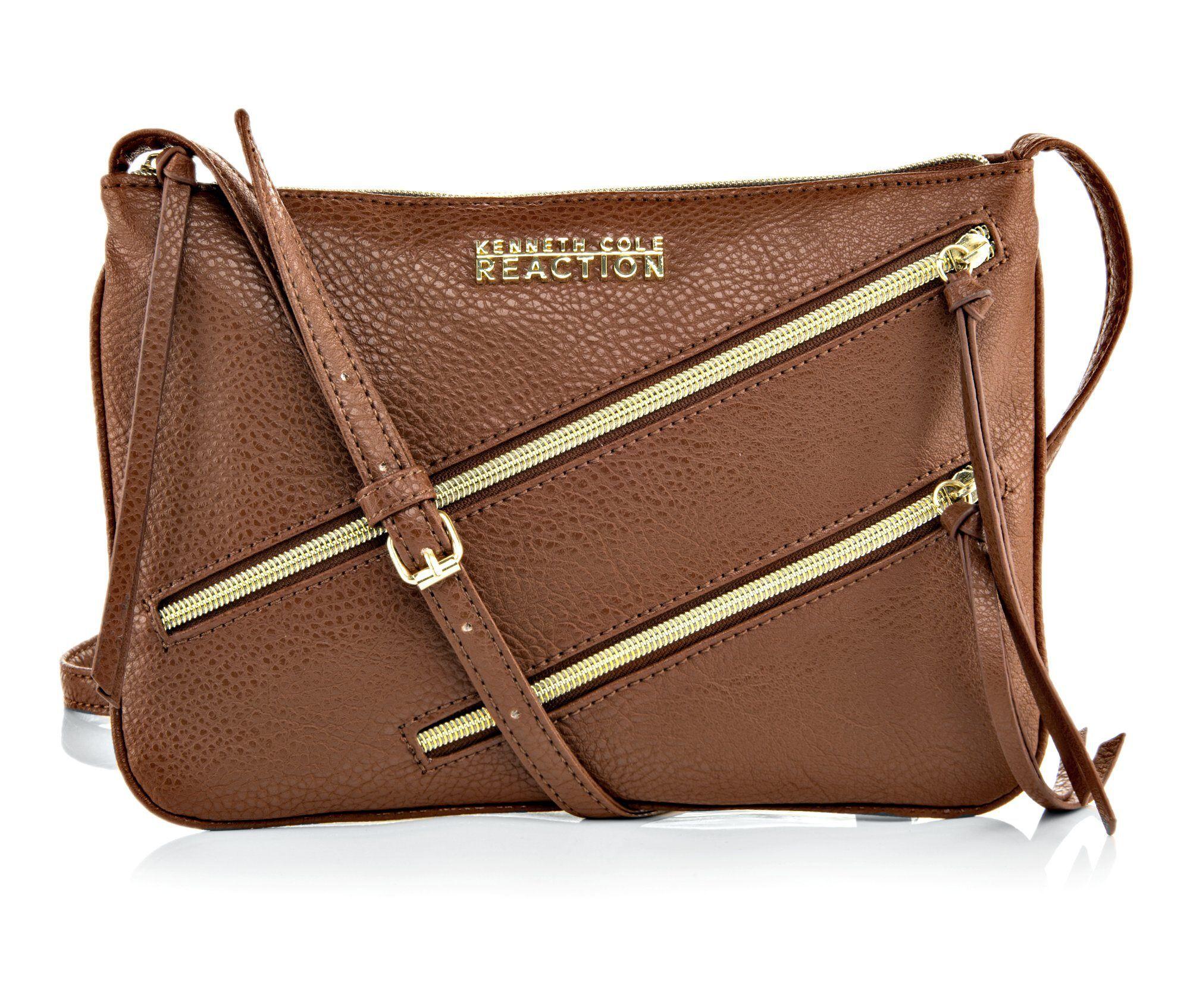 Kenneth Cole Reaction Lasso Mini Crossbody Bag Merlot