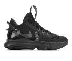Boys' Nike Little Kid Lebron Witness V Basketball Shoes