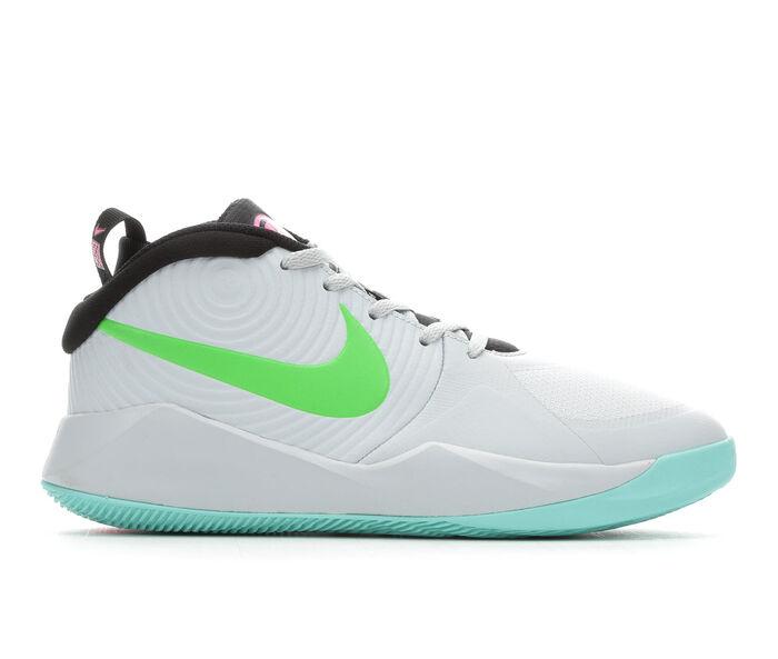 Girls' Nike Big Kid Team Hustle D9 Basketball Shoes