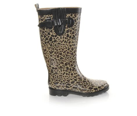 Women's Capelli New York Baby Leopard Rain Boots