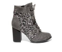 Women's 2 LIPS TOO Too Lennon Lace-Up Booties