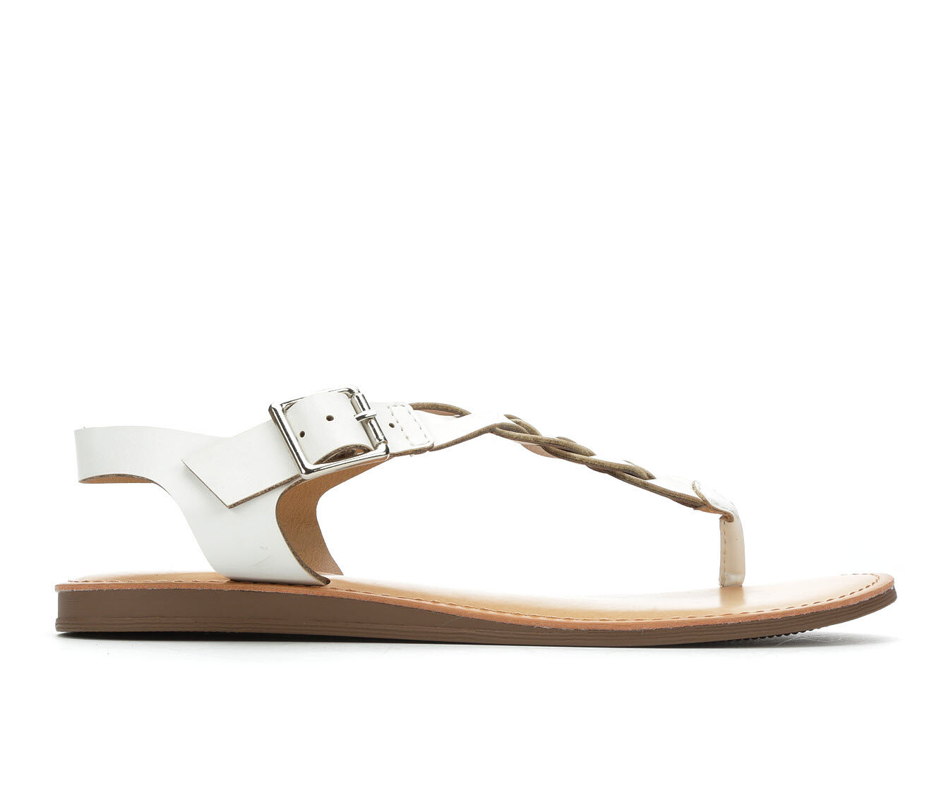 Women's Solanz Actual Sandals White
