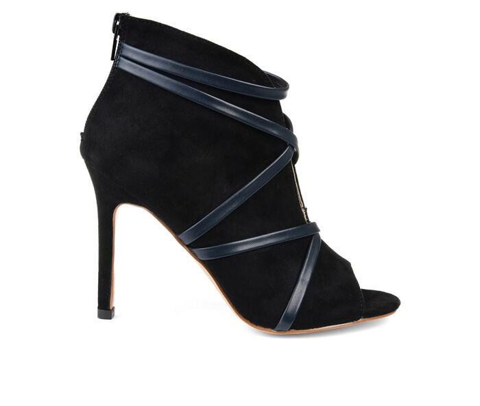 Women's Journee Collection Samara Stiletto Peep Toe Booties