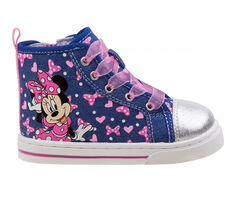 Girls' Disney Toddler & Little Kid CH18030 Minnie Mouse High-Top Sneakers