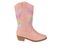 Girls' Kensie Girl Toddler Rhinestone Zip-Up Western Boots