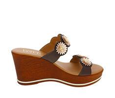 Women's Italian Shoemakers Miriam Wedge Sandals