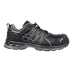 Men's Puma Safety Velocity Low Static Dissipative Leather Work Shoes