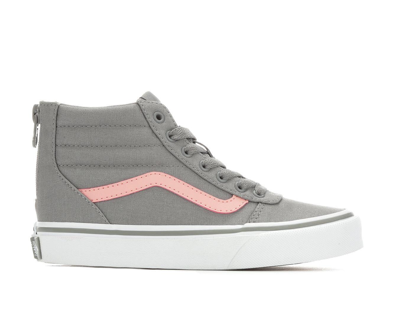 girls vans shoes size 2