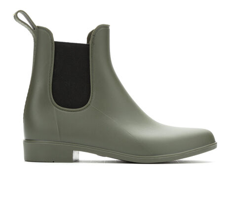 Women's Capelli New York Matte Opaque Elastic Rain Boots