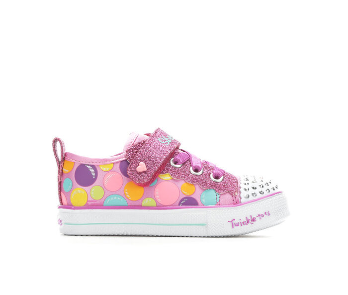 Girls' Skechers Toddler Beauty Bounce Twinkle Toes Light-Up Sneakers