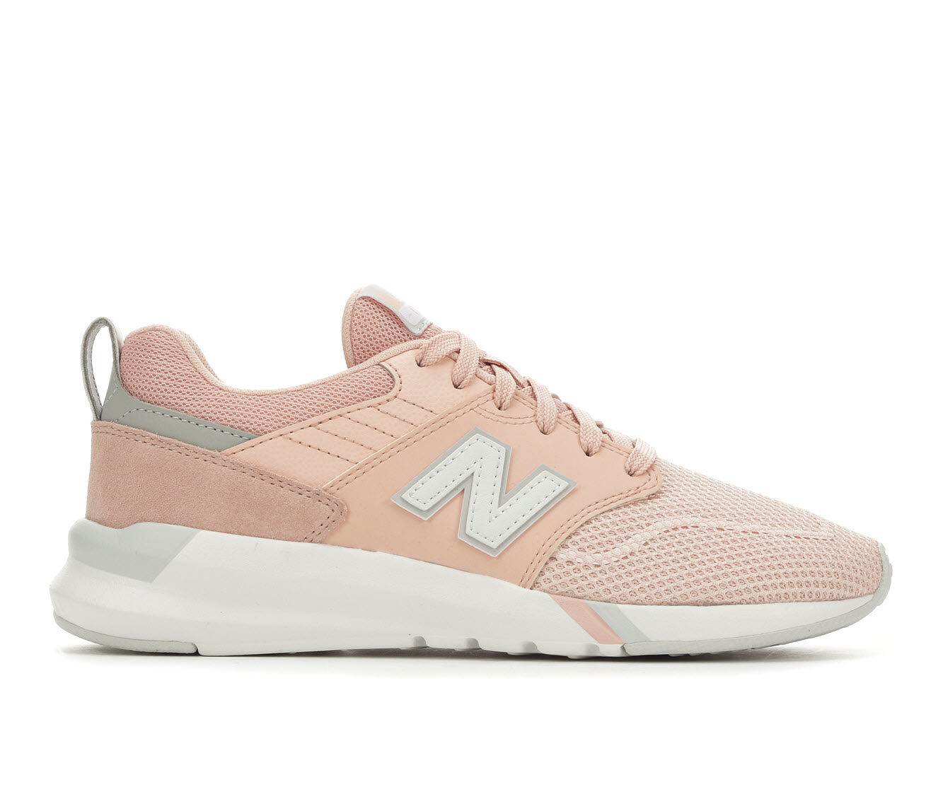 Women's New Balance 009 Retro Sneakers Pink/Buttermilk