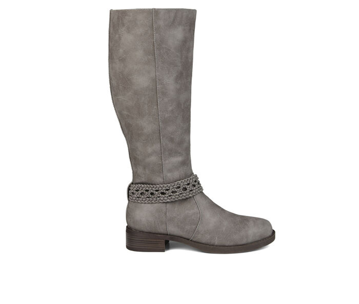 Women's Journee Collection Paisley Extra Wide Calf Knee High Boots