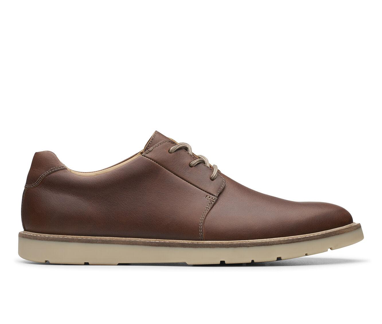Men's Clarks Grandin Plain Dress Shoes Tan