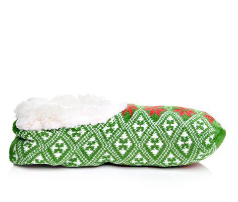 Women's Sof Sole Socks Fireside Snowflake Slipper