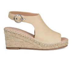 Women's Journee Collection Crew Espadrille Wedges