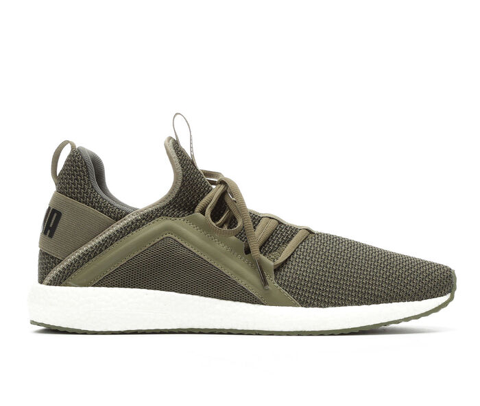 Puma Mega Nrgy Knit Men S Running Shoes Olive