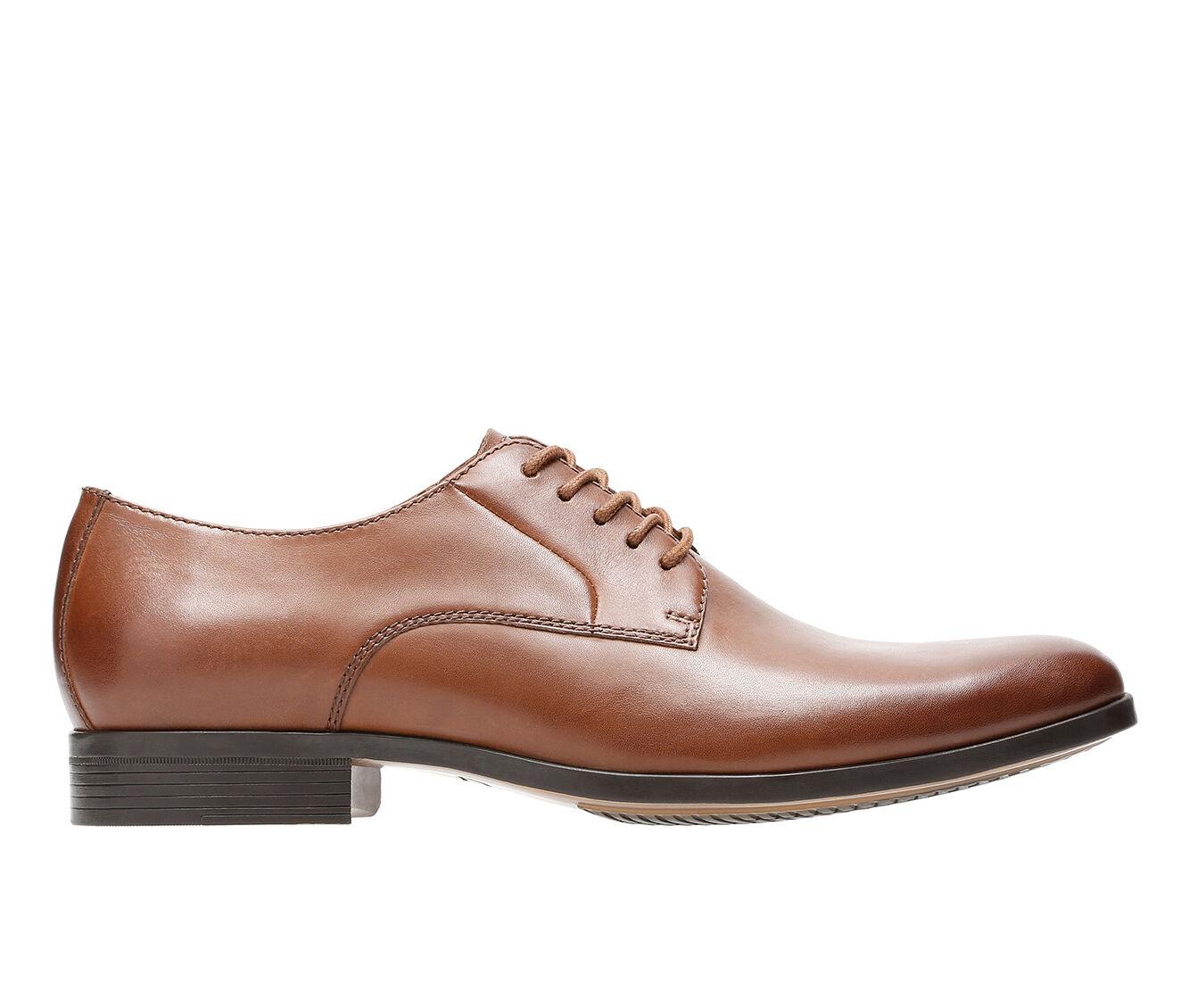 Men's Clarks Conwell Plain Dress Shoes Tan