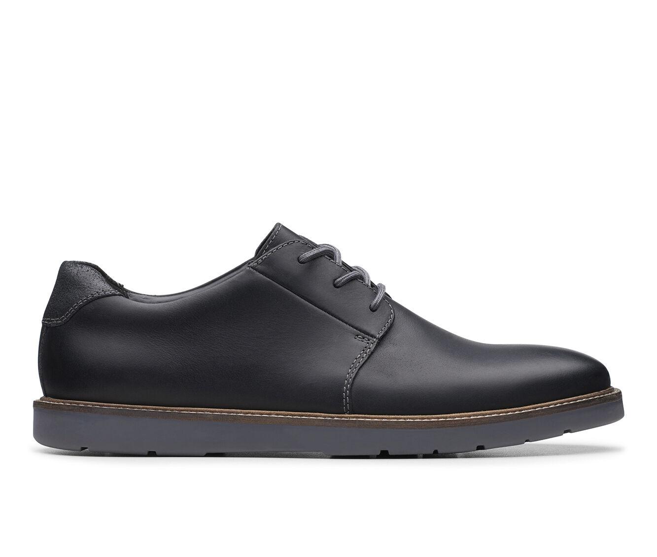 Men's Clarks Grandin Plain Dress Shoes Black