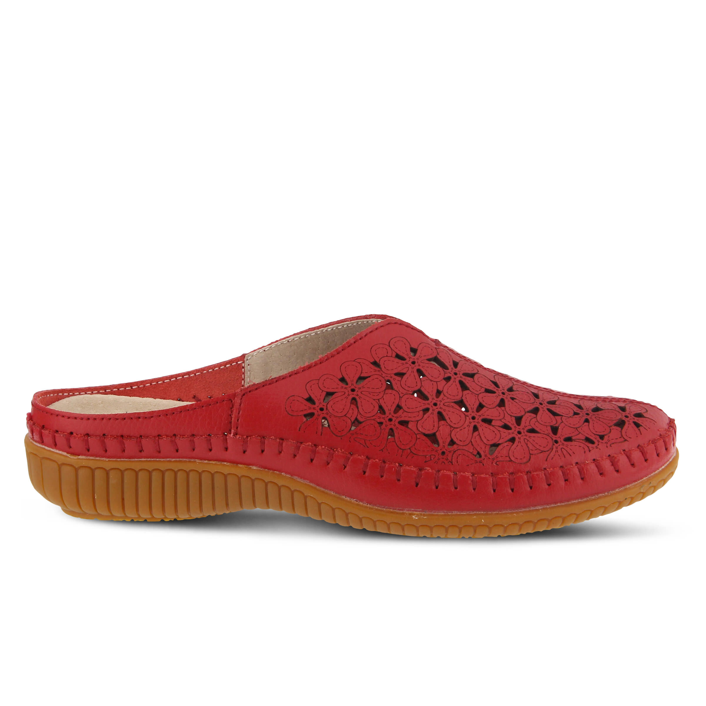 Women's SPRING STEP Parre Clogs Red