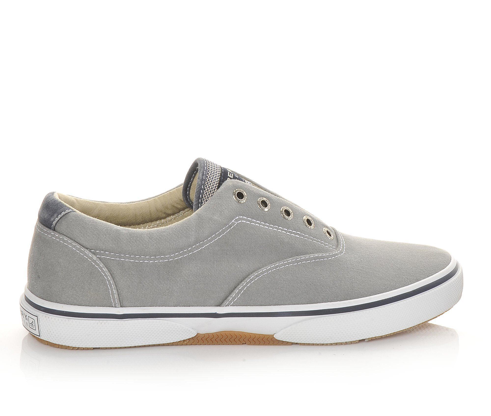 Find Comfortable Men's Sperry Halyard Laceless Casual Shoes Ash Grey