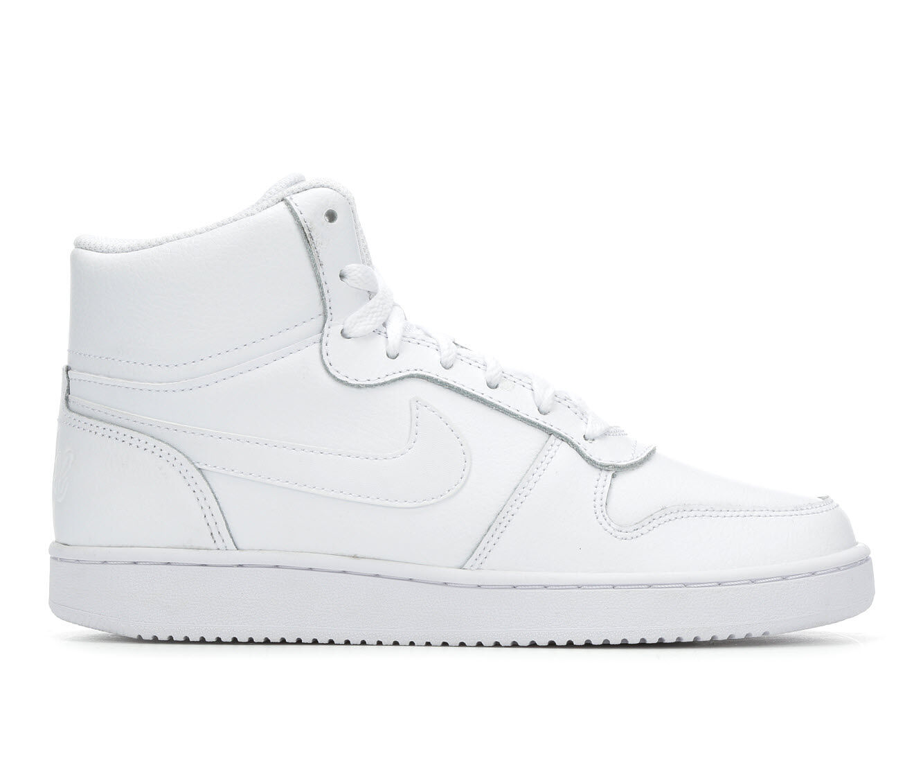 100% quality materials Women's Nike Ebernon Mid Fashion Basketball Shoes White/White