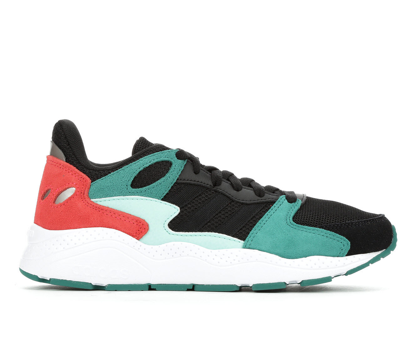 Women's Adidas Chaos Sneakers Black/Green/Red
