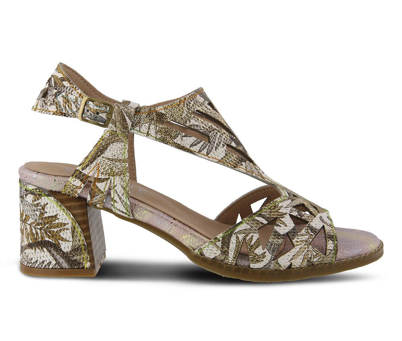Women's L'ARTISTE Calpie Dress Sandals Bronze Multi