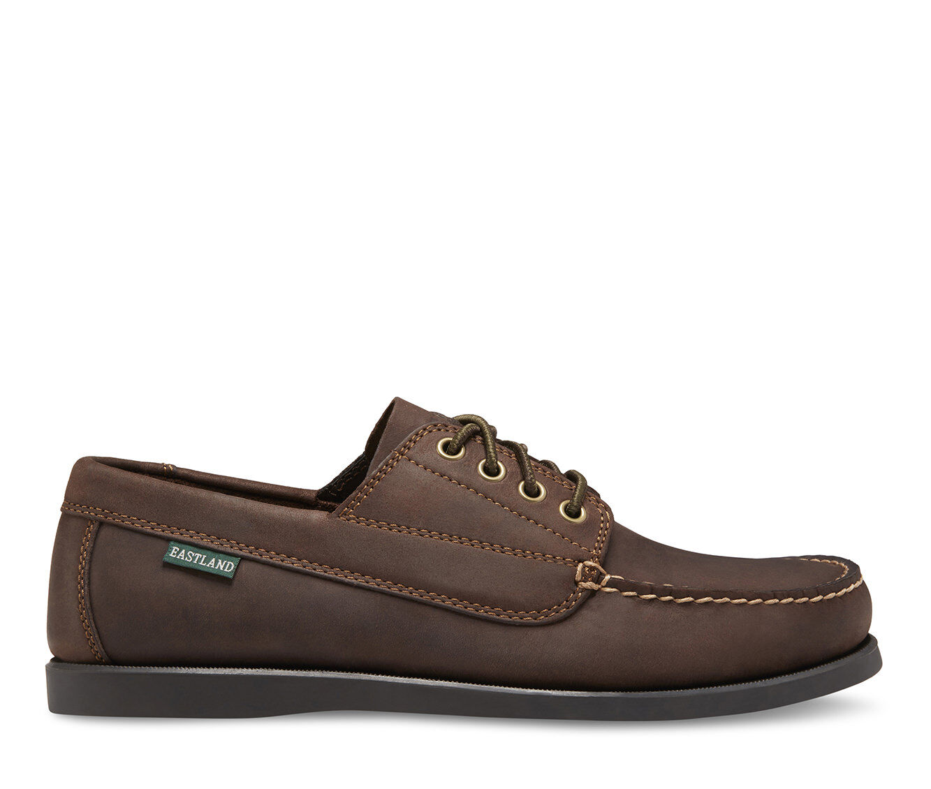 Men's Eastland Falmouth Boat Shoes Bomber Brown