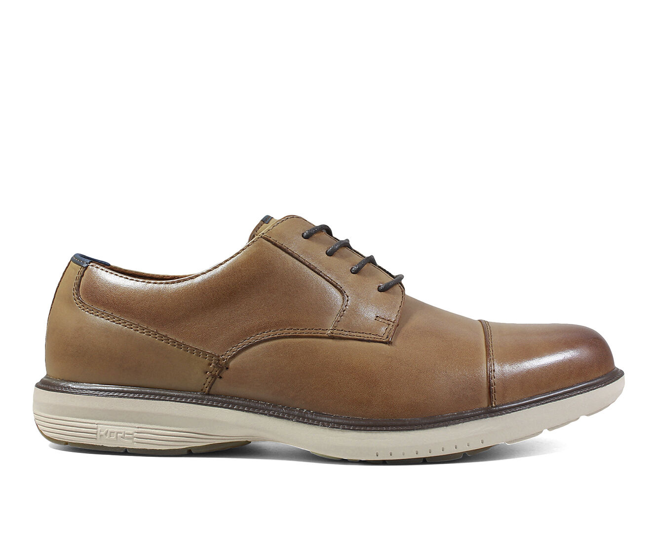 purchase comfortable Men's Nunn Bush Melvin Street Cap Toe Oxfords Camel