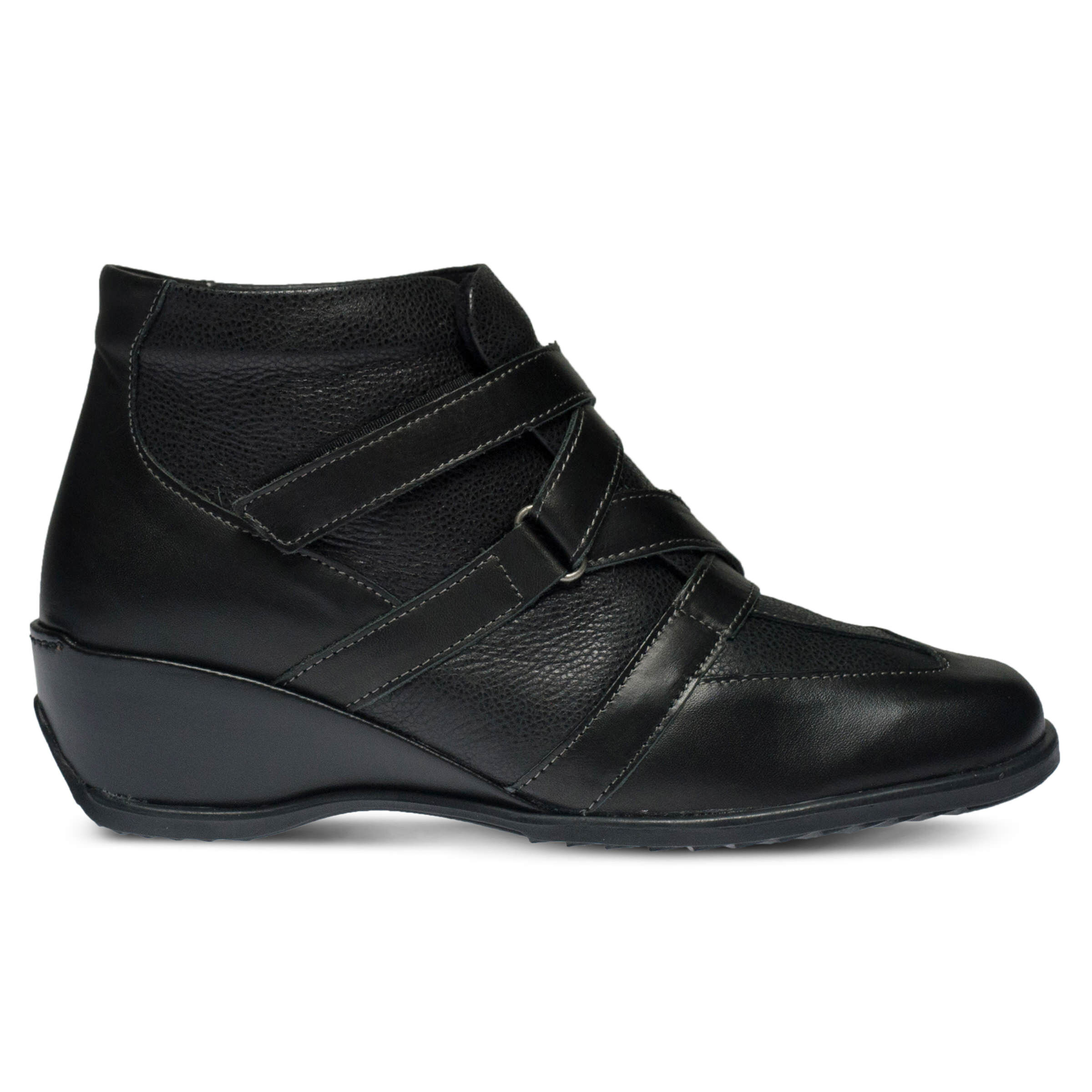 Women's SPRING STEP Allegra Booties Black