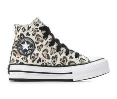 Girls' Converse Little Kid & Big Kid Chuck Taylor All Star Jungle Lift Hi Sneakers