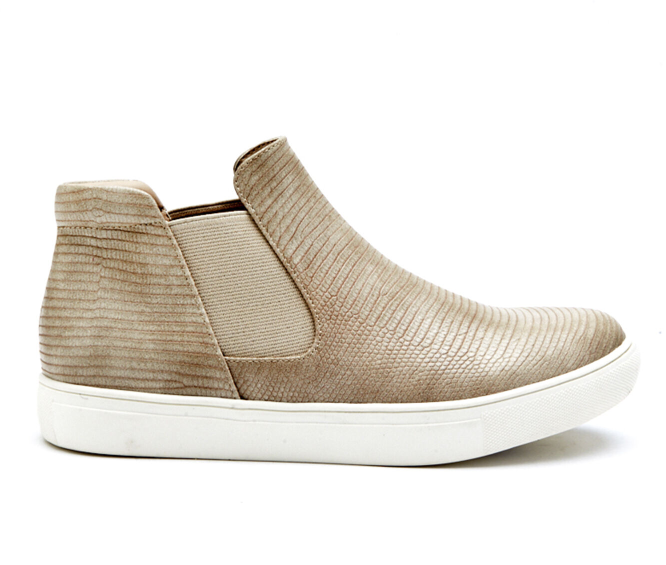 Classic-Fit Women's Coconuts Harlan Sneakers Taupe Lizard
