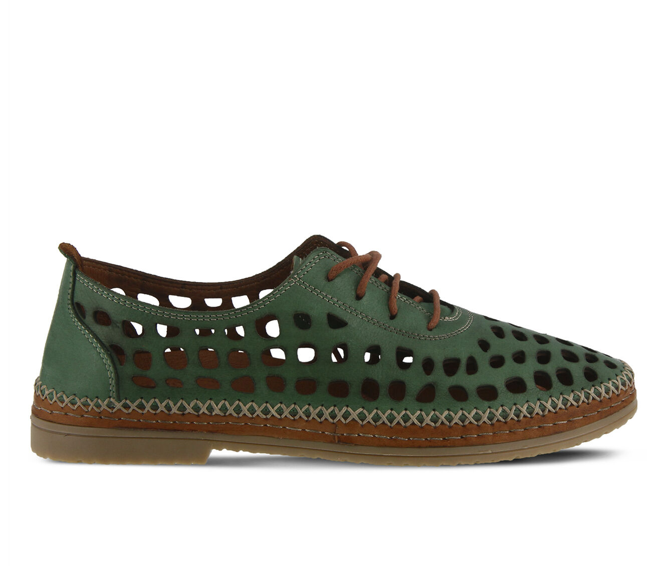 Women's SPRING STEP Bernetta Shoes Green