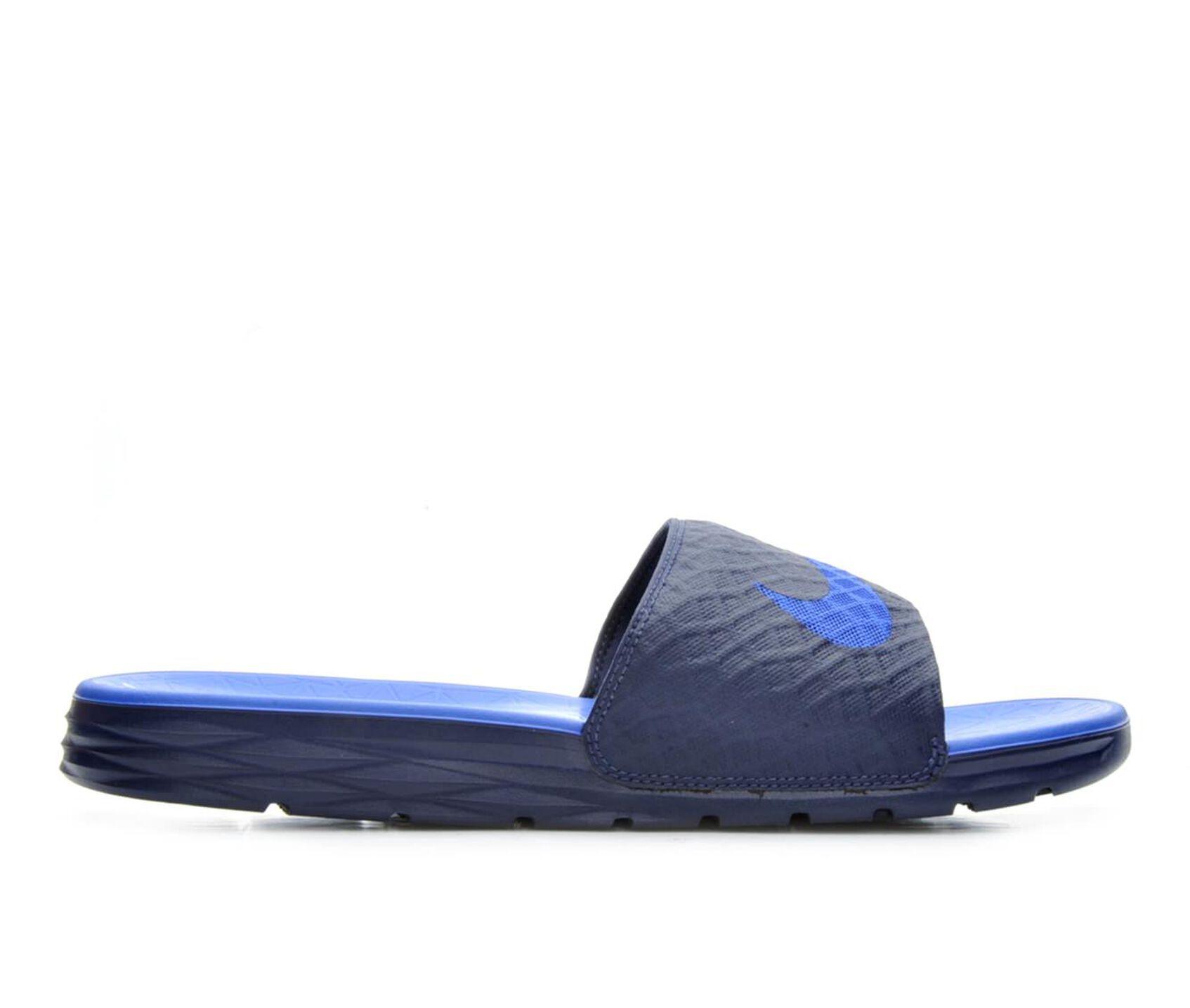 sale retailer dfeb2 f681c Mens Nike Benassi Solarsoft Slide 2 Sport Slides  Shoe Carni