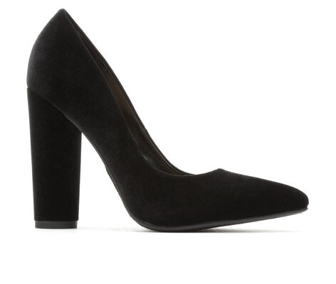 Women's Delicious Kristina Velvet Pumps