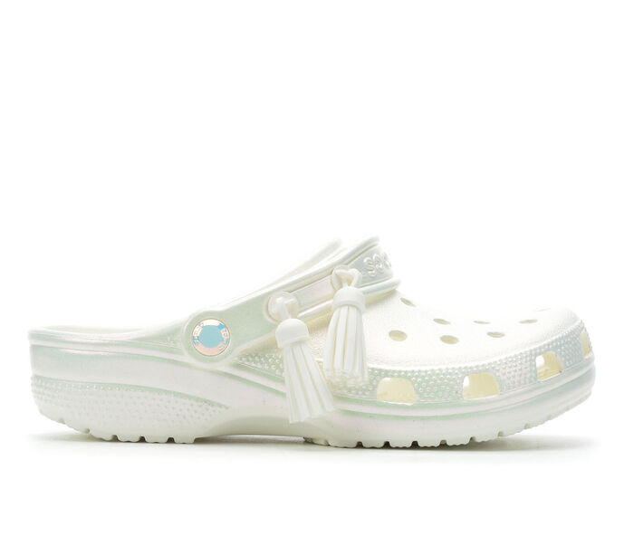 Women's Crocs Classic Iridescent Clogs
