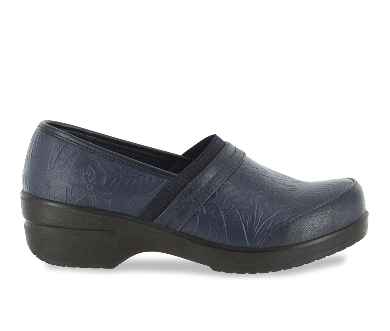 Women's Easy Street Origin Clogs Navy Tool