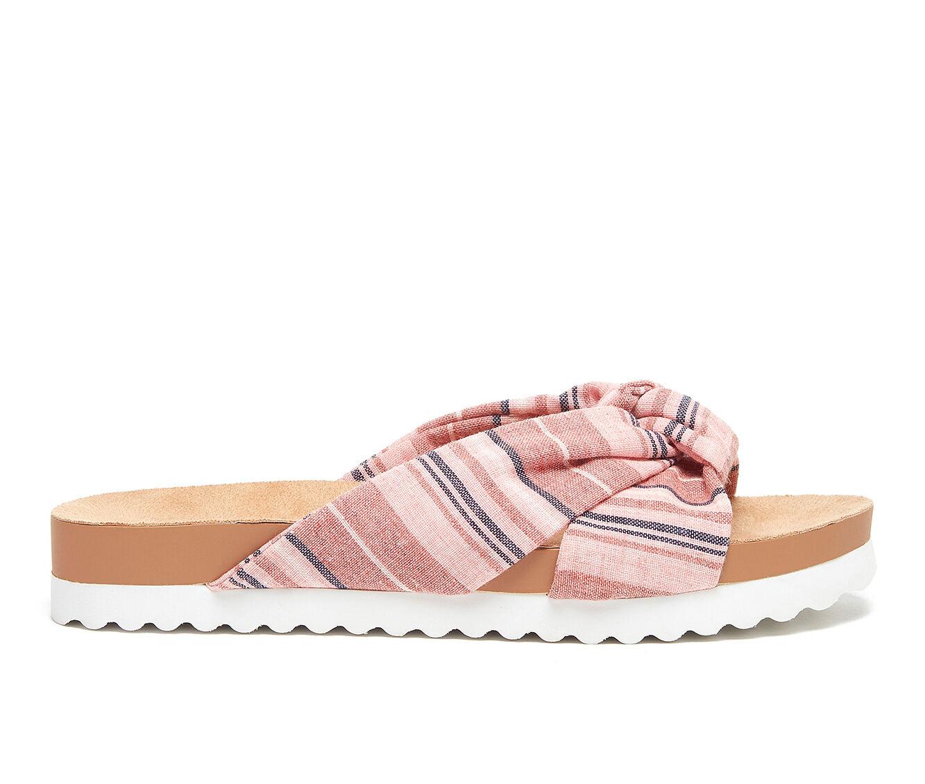 Women's Rocket Dog Loving Flatform Sandals Pink