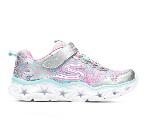 Girls' Skechers Galaxy Lights 10.5-3 Slip-On Sneakers