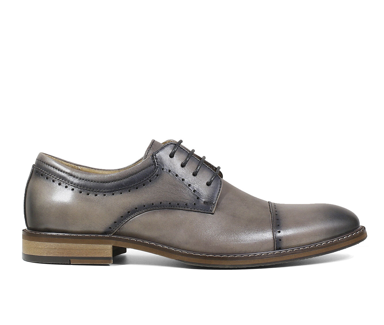 Men's Stacy Adams Flemming Dress Shoes Gray