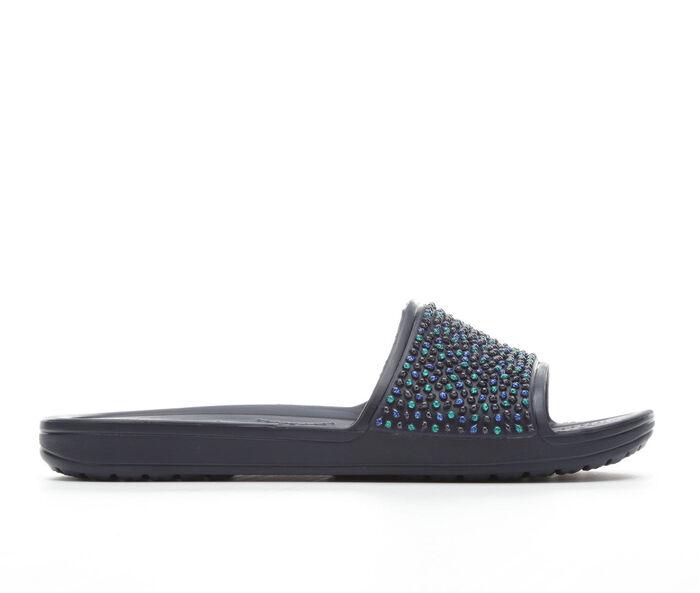 Women's Crocs Sloane Embellished Slide