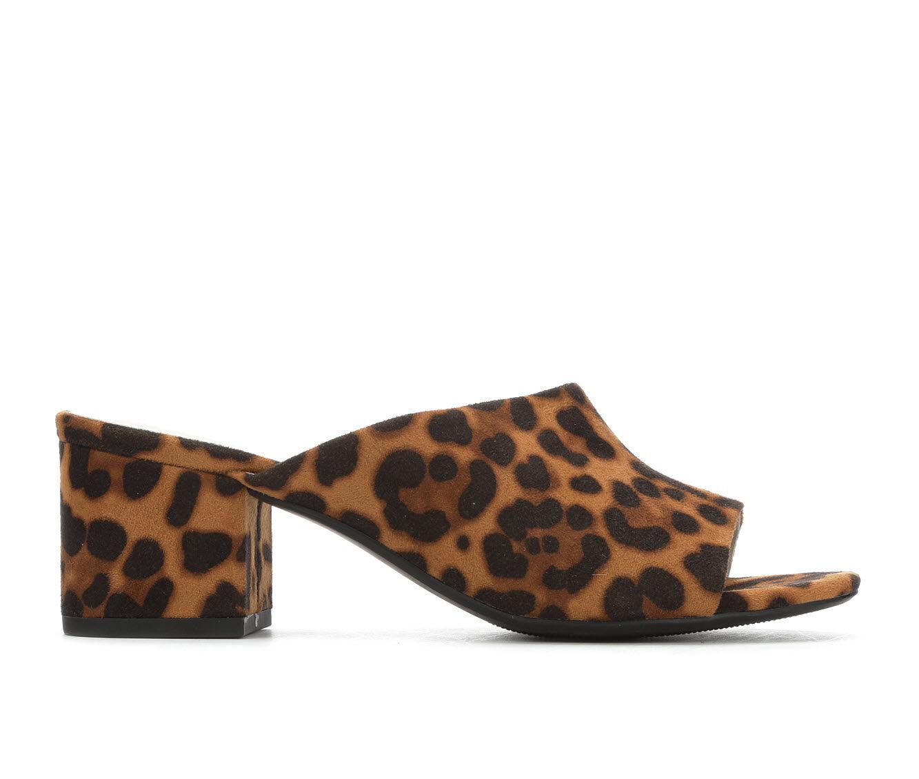 buy classic Women's Anne Klein Sport Babs Dress Sandals Leopard