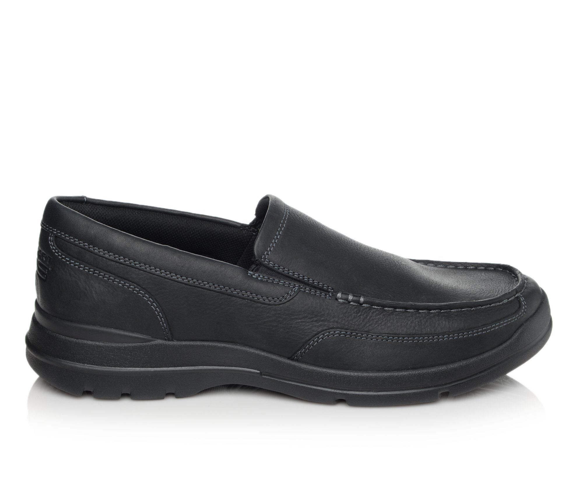 Men's Rockport Junction Point Slip On Shoes Black