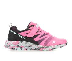 Girls' Fila Cryptonic 7 Strap Girls Running Shoes