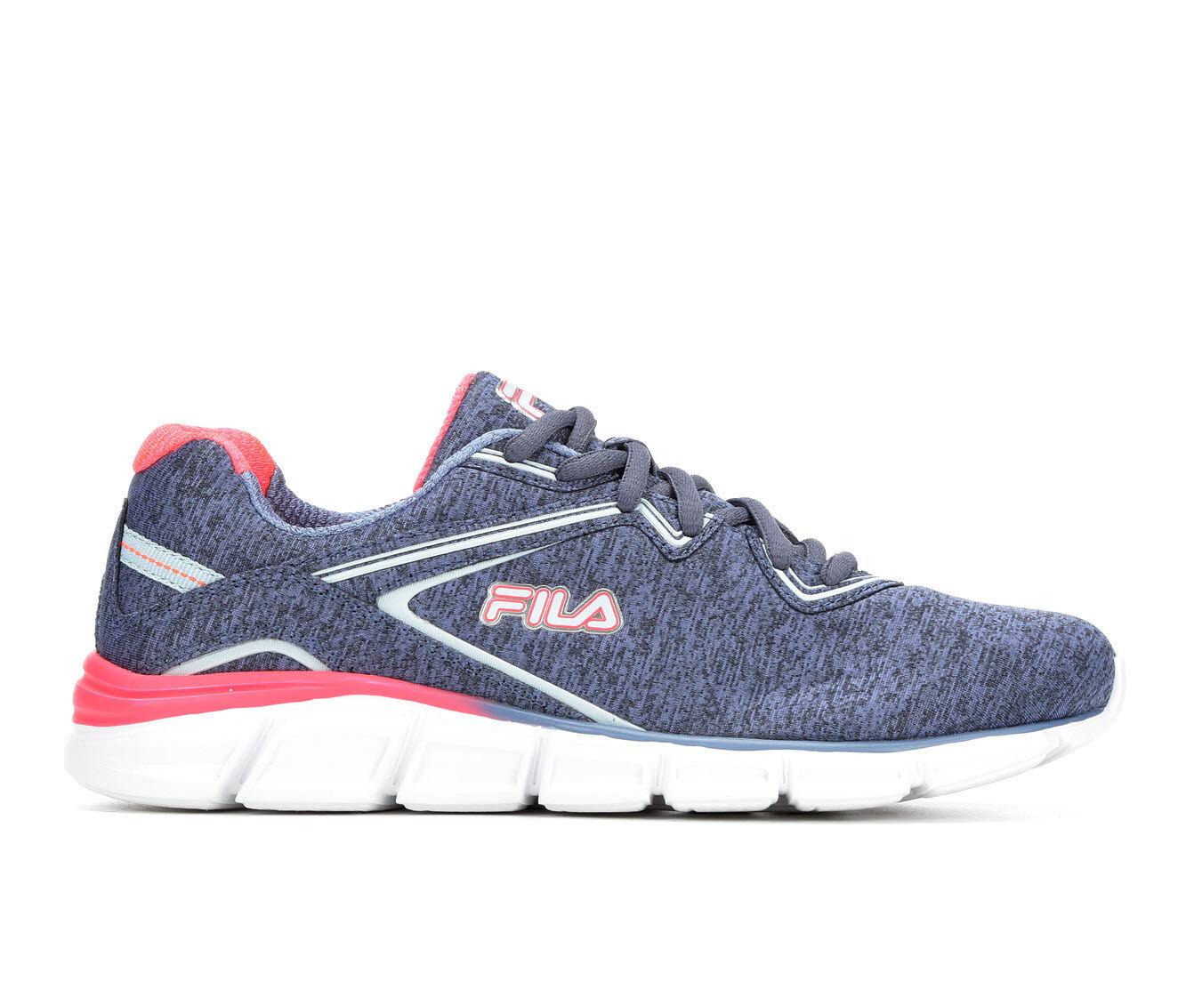 Women's Fila Vernato Heather Sneakers Blue/Pink/Wht