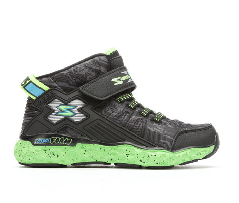 Boys' Skechers Cosmic Foam Hi 10.5-4 Basketball Shoes