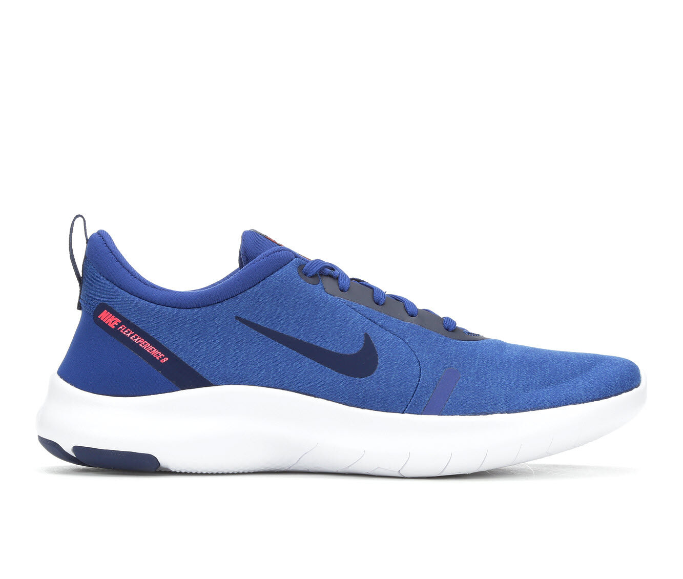 Men's Nike Flex Experience Rn 8 Running Shoes Blu/Wht/Red 400
