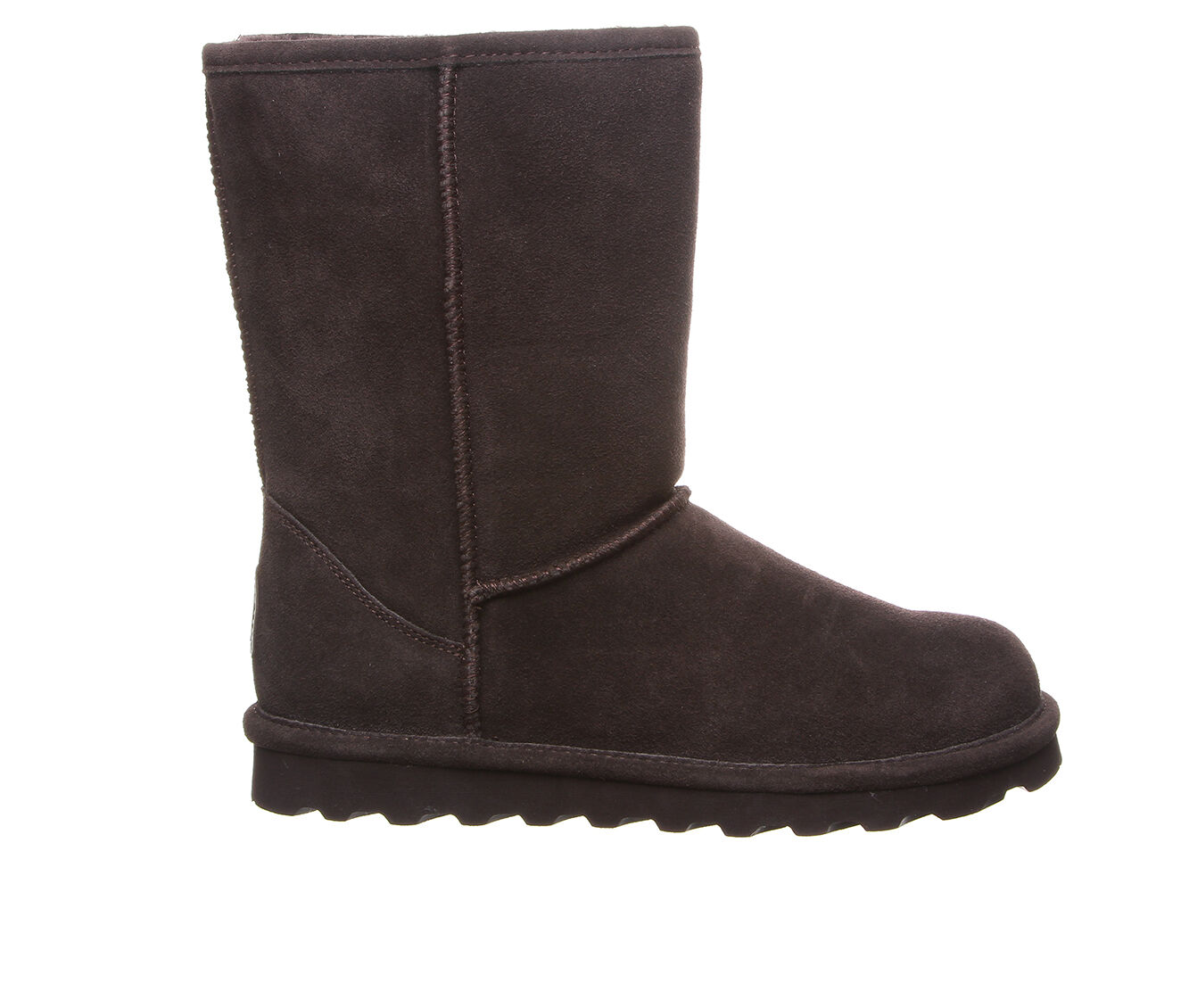 special sales Women's Bearpaw Elle Short Wide Boots Chocolate