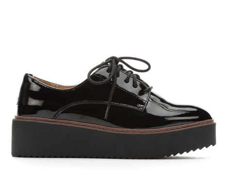 Women's Madden Girl Written Platform Oxfords