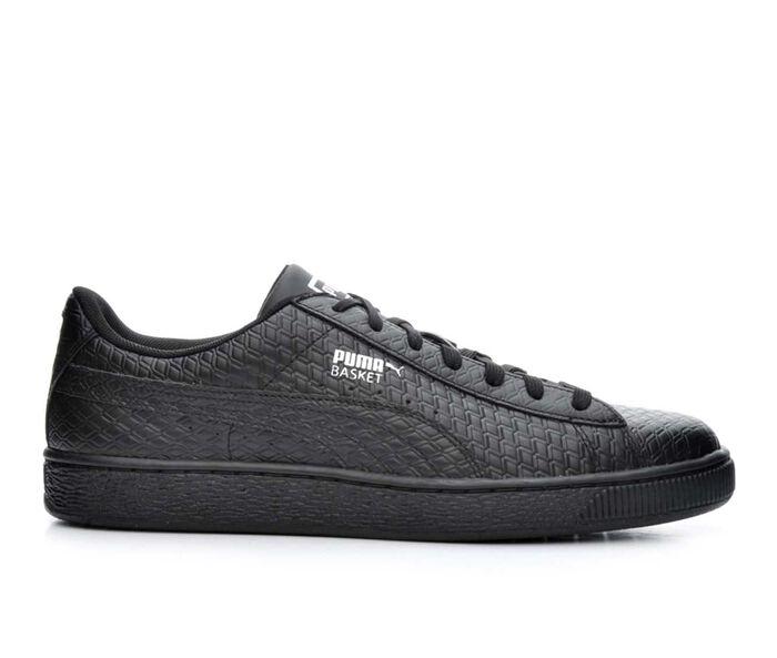 Men's Puma Basket B&W Sneakers
